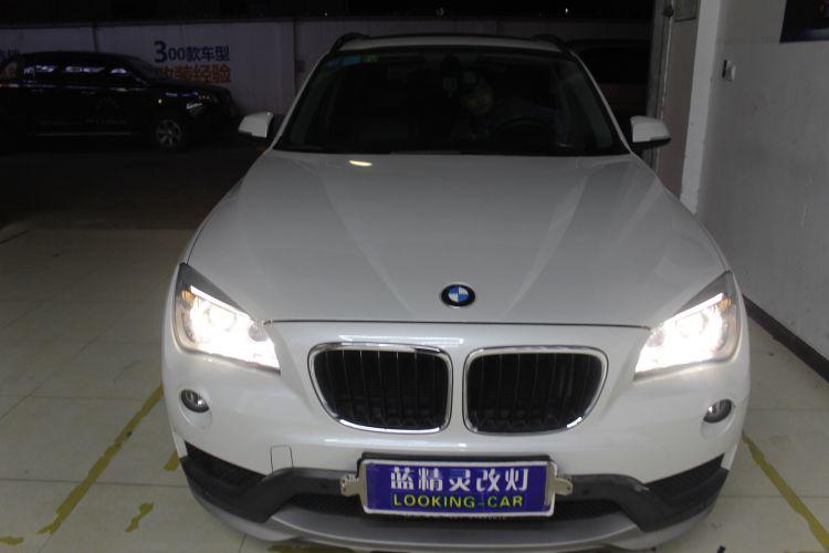 上海蓝精灵改车灯宝马X1升级大灯总成��3��