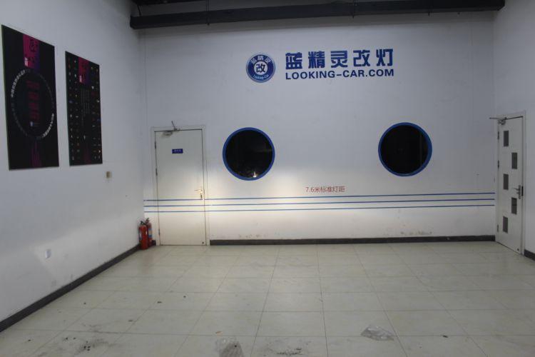 上海蓝精灵改车灯宝马X1升级大灯总成��7��