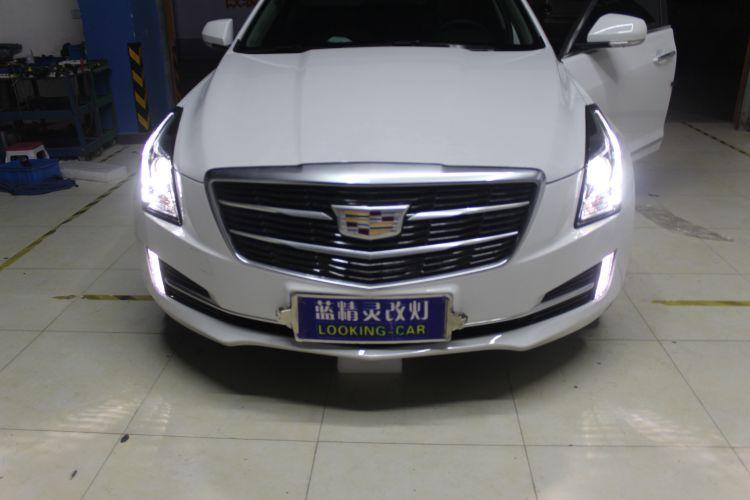 上海蓝精灵凯迪拉克ATS改车灯海拉6透镜欧司朗氙气大灯 ...��6��