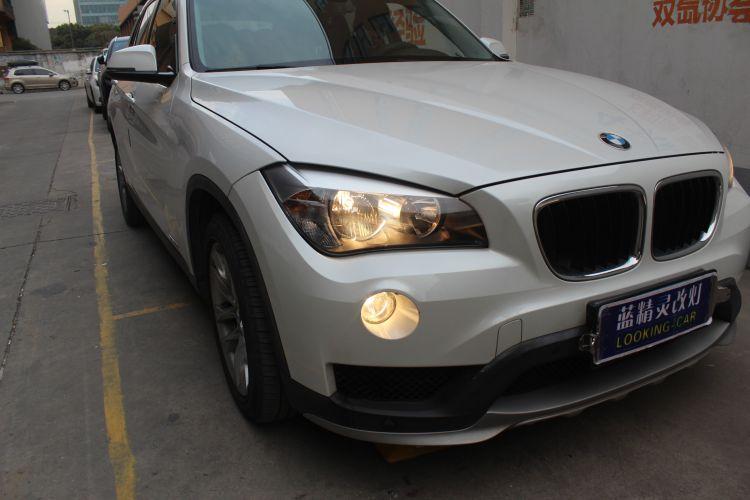 上海蓝精灵改车灯宝马X1升级大灯总成��1��