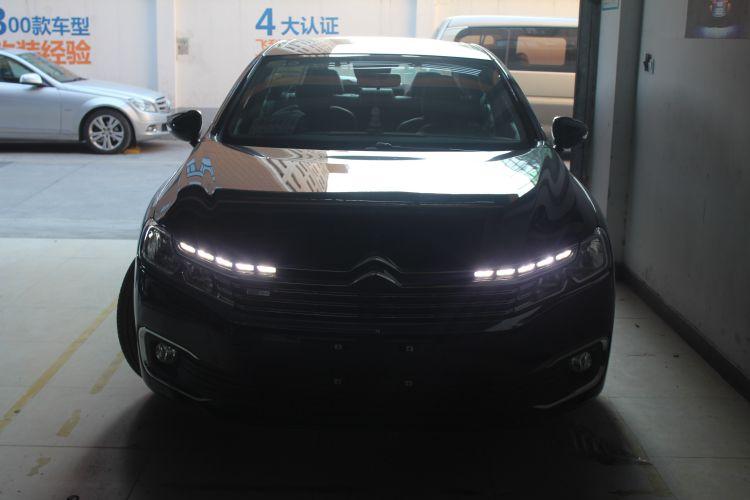 上海雪铁龙C6改车灯米石LED透镜加红色远光模组 ...��7��