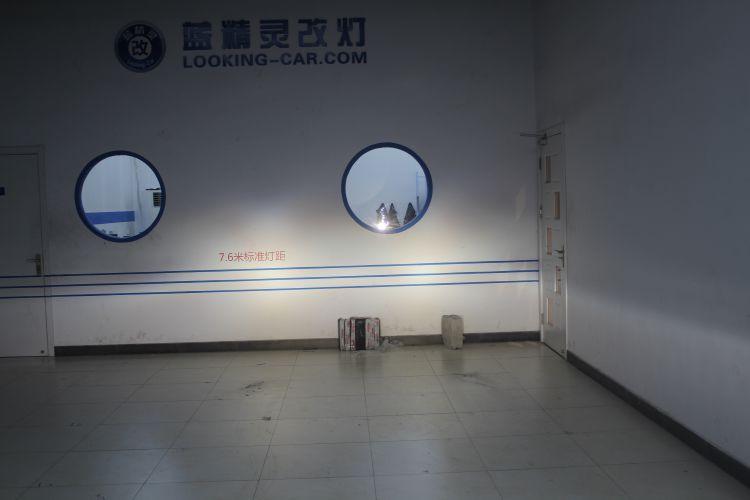 上海蓝精灵路虎神行者升级大灯总成改装高配氙气大灯 ...��8��