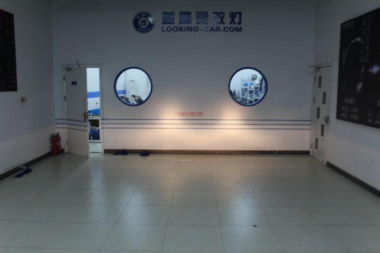 上海蓝精灵凯迪拉克ATS改车灯海拉6透镜欧司朗氙气大灯 ...��5��