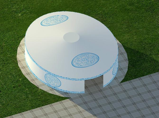 蒙古包膜结构建筑