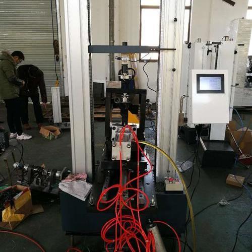 昆山吴江钻井工具有限公司非标拉力试验机顺利验收完成