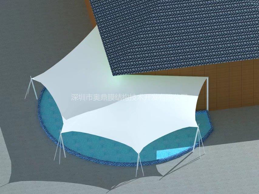 泳池膜结构工程