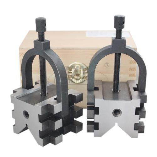 Multi-Use V Block And Clamp Set