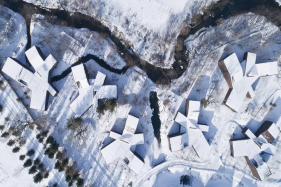 森林守望者-長白山河谷林居,吉林 / 原地建筑