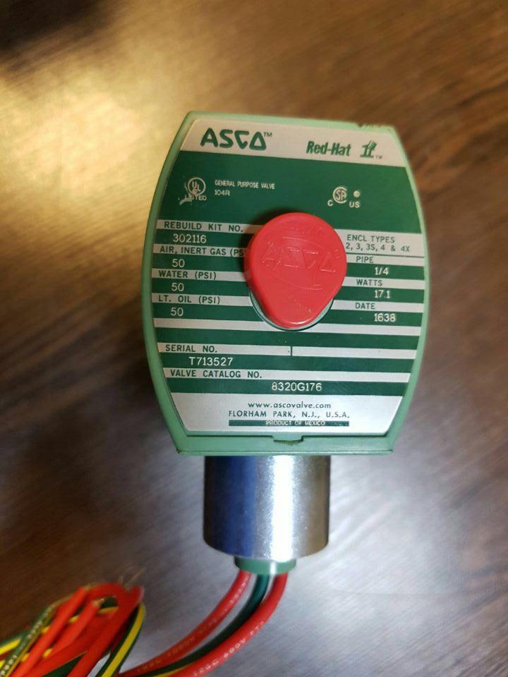 ASCO电磁阀8320G176