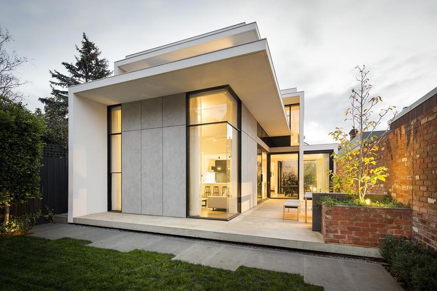 維多利亞風格與現代主義的新融合——墨爾本住宅項目