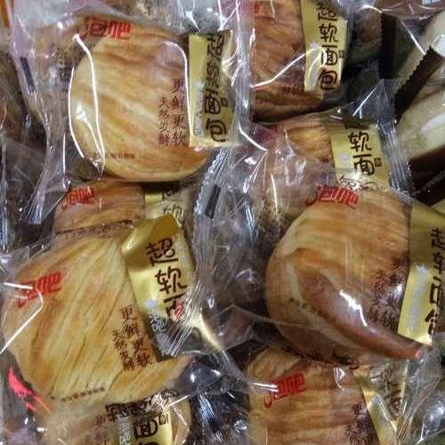 泡吧皇冠超软面包