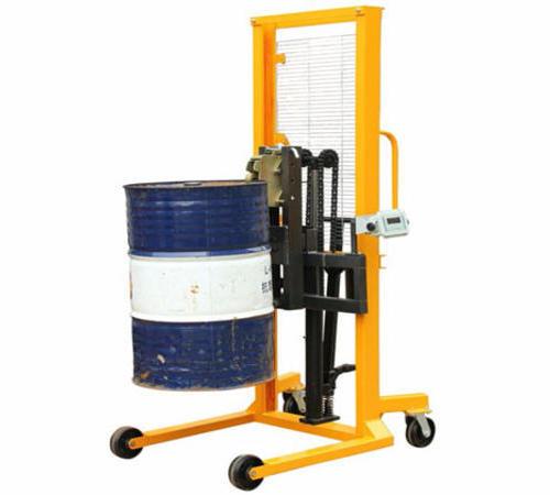(电子秤)经济型液压油桶堆高车