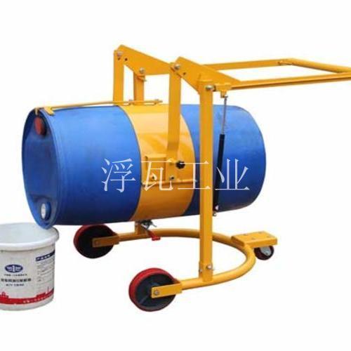 多功能油桶搬运车