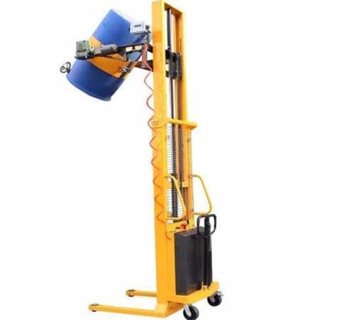 多功能油桶翻转车(带电子秤)