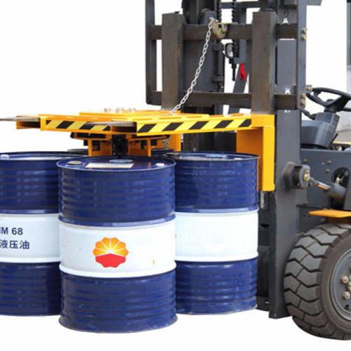 叉车专用四油桶夹具