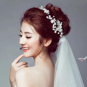 婚礼上的头饰,唤醒你的仙子灵魂