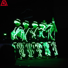 上海开场节目-光影特效-电光舞