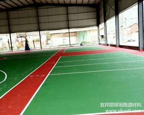 福建漳州丙烯酸球場施工案例