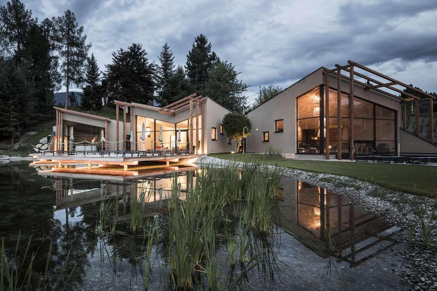 湖光山色,水天相接——家庭經營式的Hotel Seehof