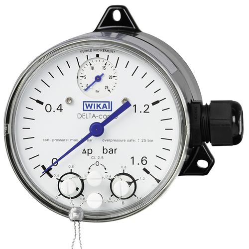 DPGS40TA 带微动开关的差压表
