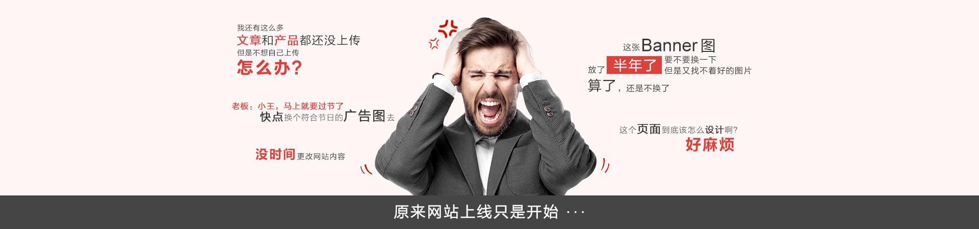 助贤care+网站内容维护服务