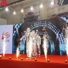 上海開場表演-機械舞鏡面舞