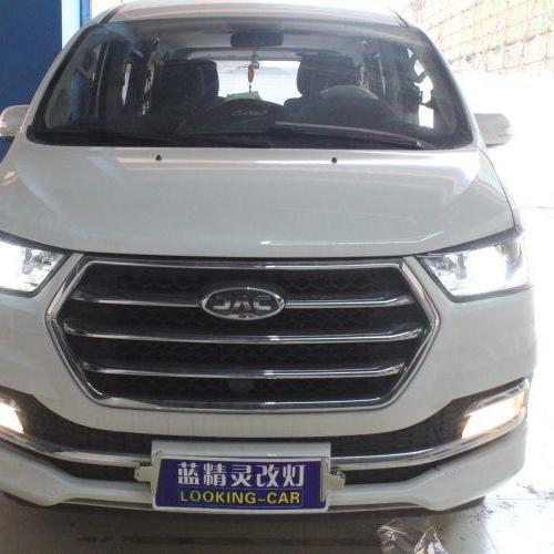 上海江淮车灯改装海拉5透镜氙气大灯
