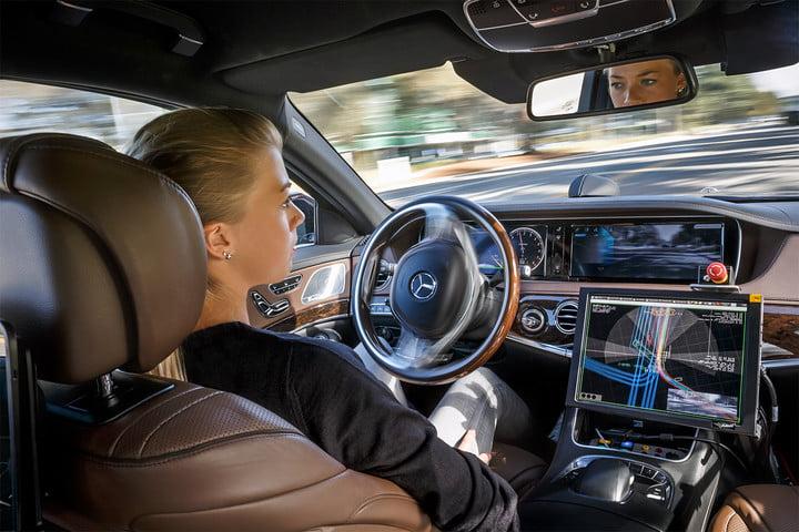 california announces policy revisions for self driving cars mercedes autonomous car
