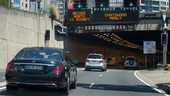 Mercedes is trying to get its cars to 'learn' Australia's variable speed limit signs. Picture: Supplied.