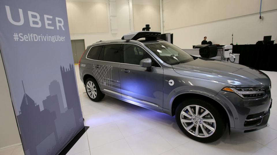 Uber's Volvo XC90 will be purchased in the next five years