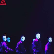 上海节目演出-荧光面具舞