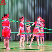 节目演出 古典民族舞-竹竿舞