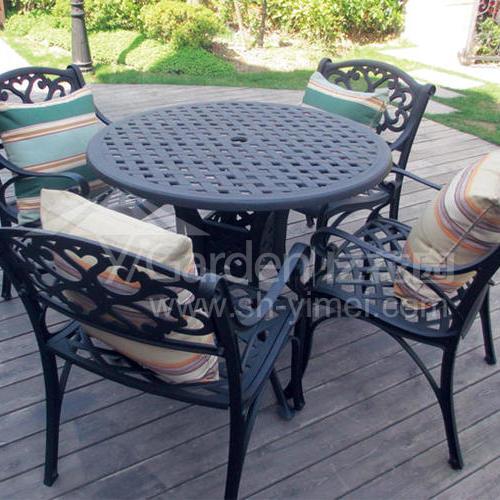 J03-016(1+4铸铝桌椅)