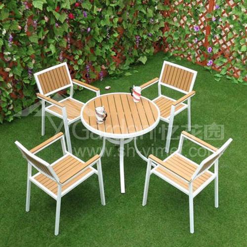J06-016(塑木桌椅)