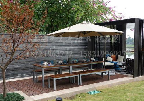 J06-021(塑木桌椅)