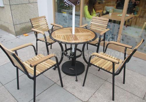 J06-012(塑木桌椅)