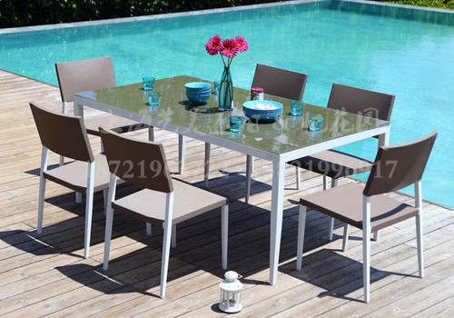 J07-004(网布桌椅)