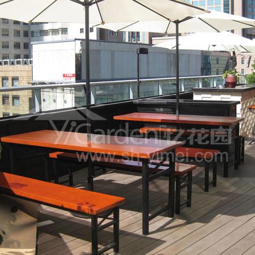 J06-020(塑木桌椅)