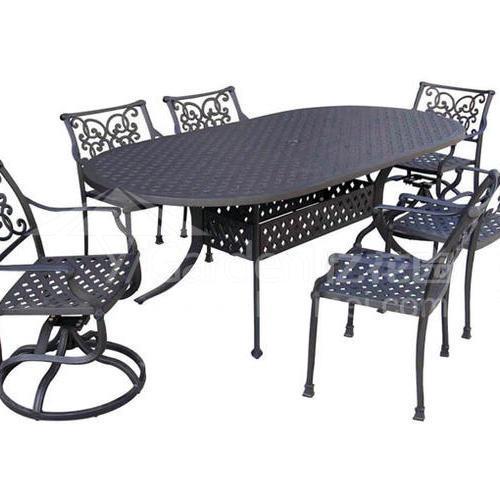 J04-011(1+6铸铝桌椅)