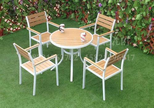 J06-014(塑木桌椅)