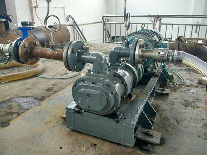 双螺杆衬胶泵