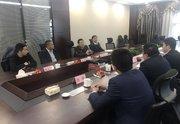 中艺东方经贸发展有限公司副总经理陈龙军一行莅临井汇集团参观指导