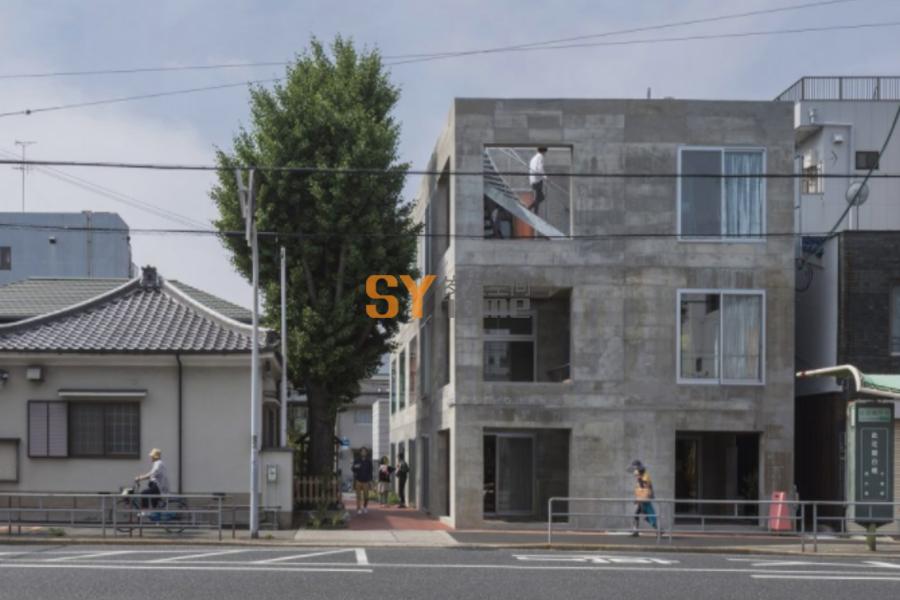 The Blend Inn城镇旅店,日本 / Tato Architects