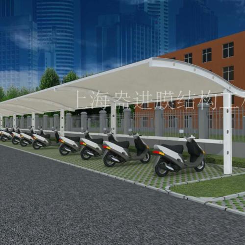 自行车电动车停车棚