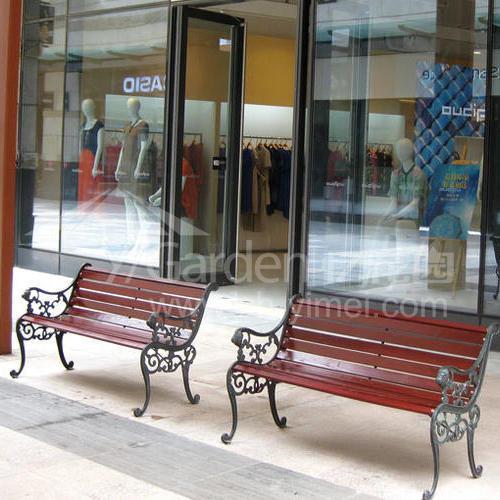 G01-502/G01-500/G01-501(钢木长椅)