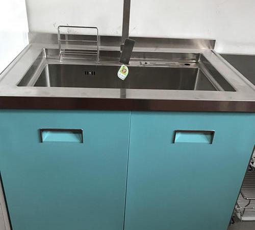不锈钢水盆柜