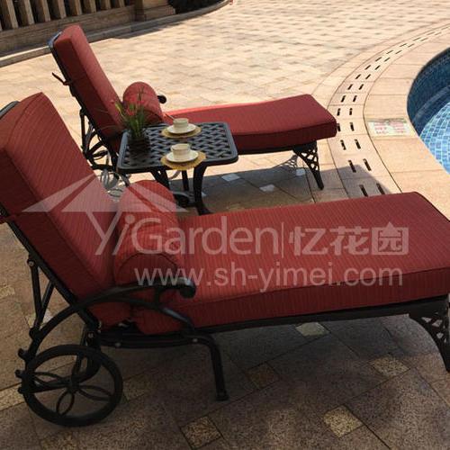 TY-206/TY-205(铸铝躺椅)