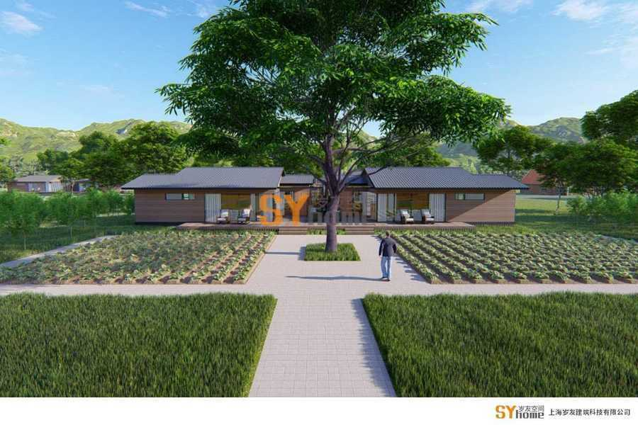 庄园木墅,在一片绿野中,寻求一个归隐田园的归宿
