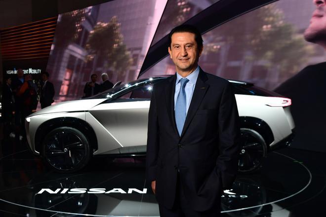 日产汽车有限公司CPO**绩效官何塞·穆诺兹在日内瓦车展上