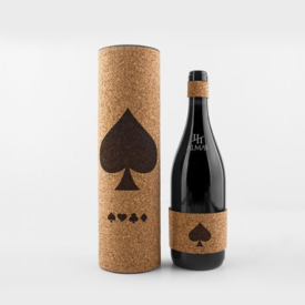 红酒盒酒瓶设计
